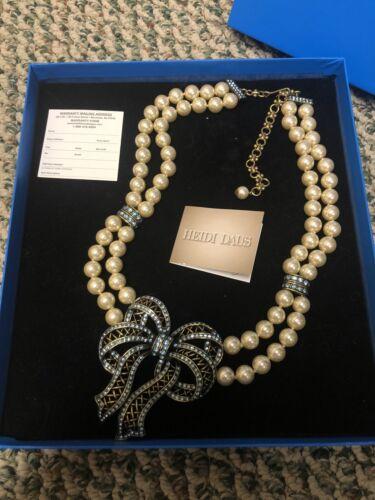 Heidi Daus Pearl Necklace