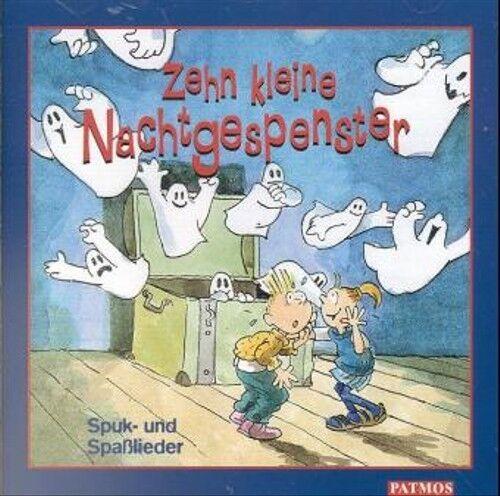 Various - 10 kleine Nachtgespenster, 1 CD-Audio
