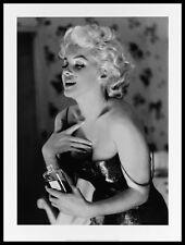 Ed Feingersh Marilyn Monroe Chanel No.5 Poster Bild Kunstdruck & Rahmen 80x60cm