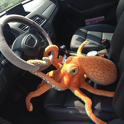 Funny Cute Octopus Squid Stuffed Animal Soft Plush Toy Doll Pillow
