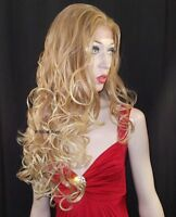 Lace Front Holiday Wig From Sepia Gorgeous T27.613 - Blonde With Strawberry