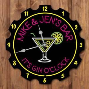 Personalised-Gin-Bar-Clock-Home-Bar-Clock-Pub-Wall-Clock-Custom-Retro-Gin-Sign