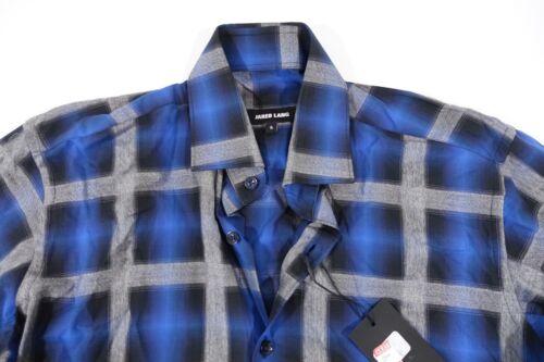 Lang Bouton Bleu Le Neuf Avant Petit Jared Chemise Hommes Carreauxcossais dqYxwp