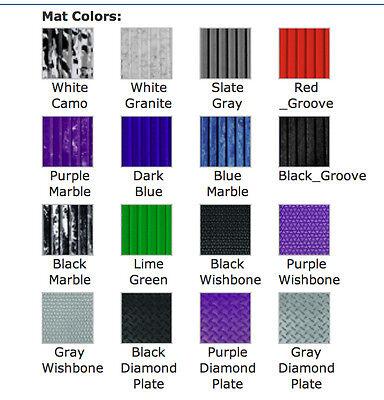 "with PSA Adhesive Wishbone Black 39/"" x 78/"" BLACKTIP Traction Mat Sheet"