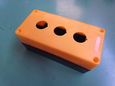 1 Stück Schalter Box Aufbau Für 3 St Schalter In Orange Eth9-3-o