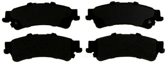 Disc Brake Pad Set-Semi Metallic Disc Brake Pad Rear,Front ACDelco Advantage