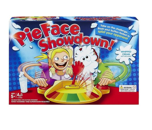 55% OFF Pie Face Showdown Parent Child Game Kids Toy Gifts