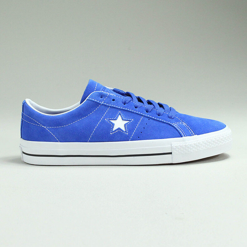 Converse One Star Pro OX shoes Trainers New in bluee Size UK size 7,8,9,10