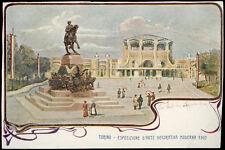 cartolina TORINO esposizione d'arte decorativa moderna 1902
