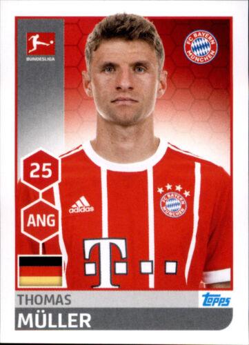 Sticker 227 Thomas Müller TOPPS Bundesliga 2017/2018