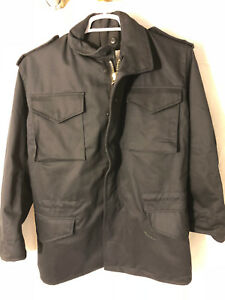 HEAVY-DUTY-MILITARY-TACTICAL-NAVY-BLUE-FIELD-JACKET-WATERPROOF-XS-EXTRA-SMALL