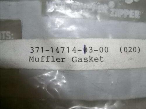 Yamaha OEM NOS muffler joint gasket 371-14714-13-00  #1987