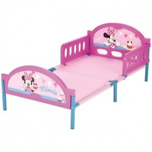 Disney Minnie Mouse Bett 140x70 cm Kinderbett Kinderzimmer Metall ...