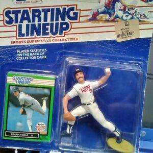 1989 STARTING LINEUP - SLU - MLB - FRANK VIOLA - MINNESOTA TWINS
