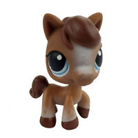 Hasbro Cute Brown Horse Pony LPS Littlest Pet Shop Figure Gift Toy Animals IASK