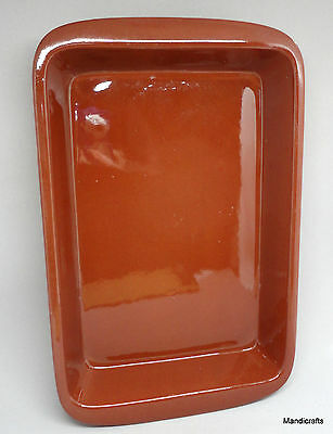 BMP Lasagna Dish Northern Clay Works 13x8in Casserole 1984 Blue Mountain Pottery