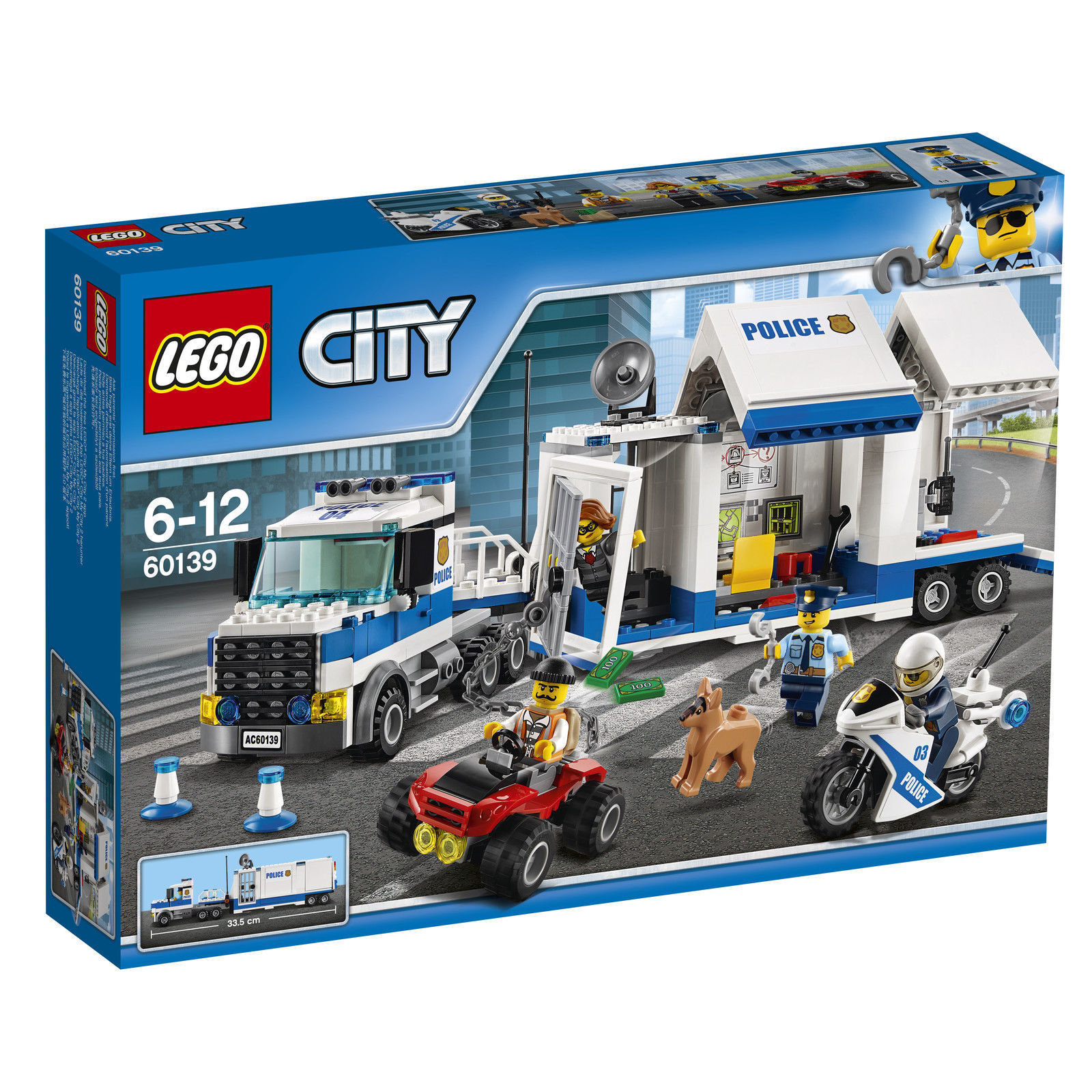 LEGO ® City 60139 mobile Centre Opérationnel-Nouveau Neuf dans sa sa sa boîte 561bbb