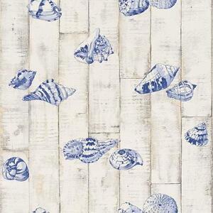 Tapete Maritim vinyl tapete rasch aqua relief iv 854206 bad holz maritim muscheln