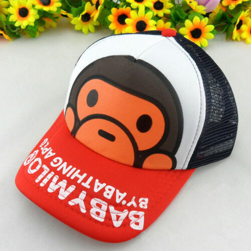New Baby Milo Bape Hat kids Cute Accessories Head A Bathing Ape Cotton Cap Gift