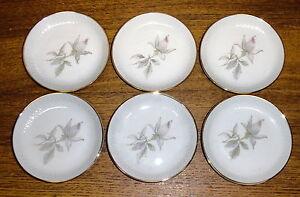 6-Edelstein-Bavaria-Germany-Porcelain-Coasters-213-EDE1-Pink-Roses-4-3-8-034