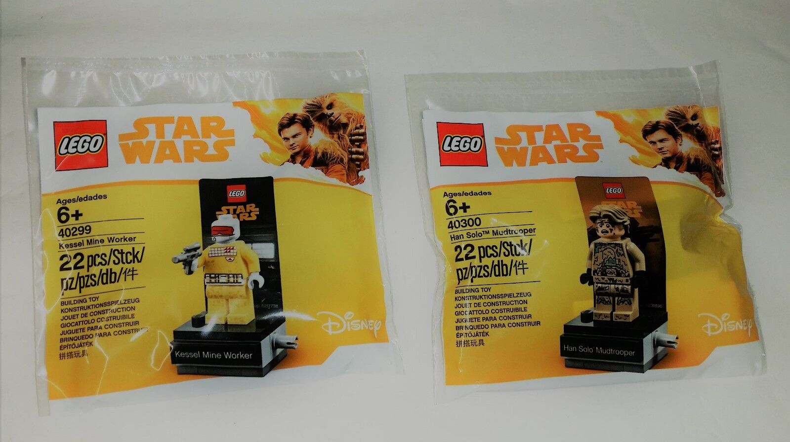 Lego Star Wars Poliestere 40300 Ian solo ™ Mudtrooper + 40299 Kessel Miniera