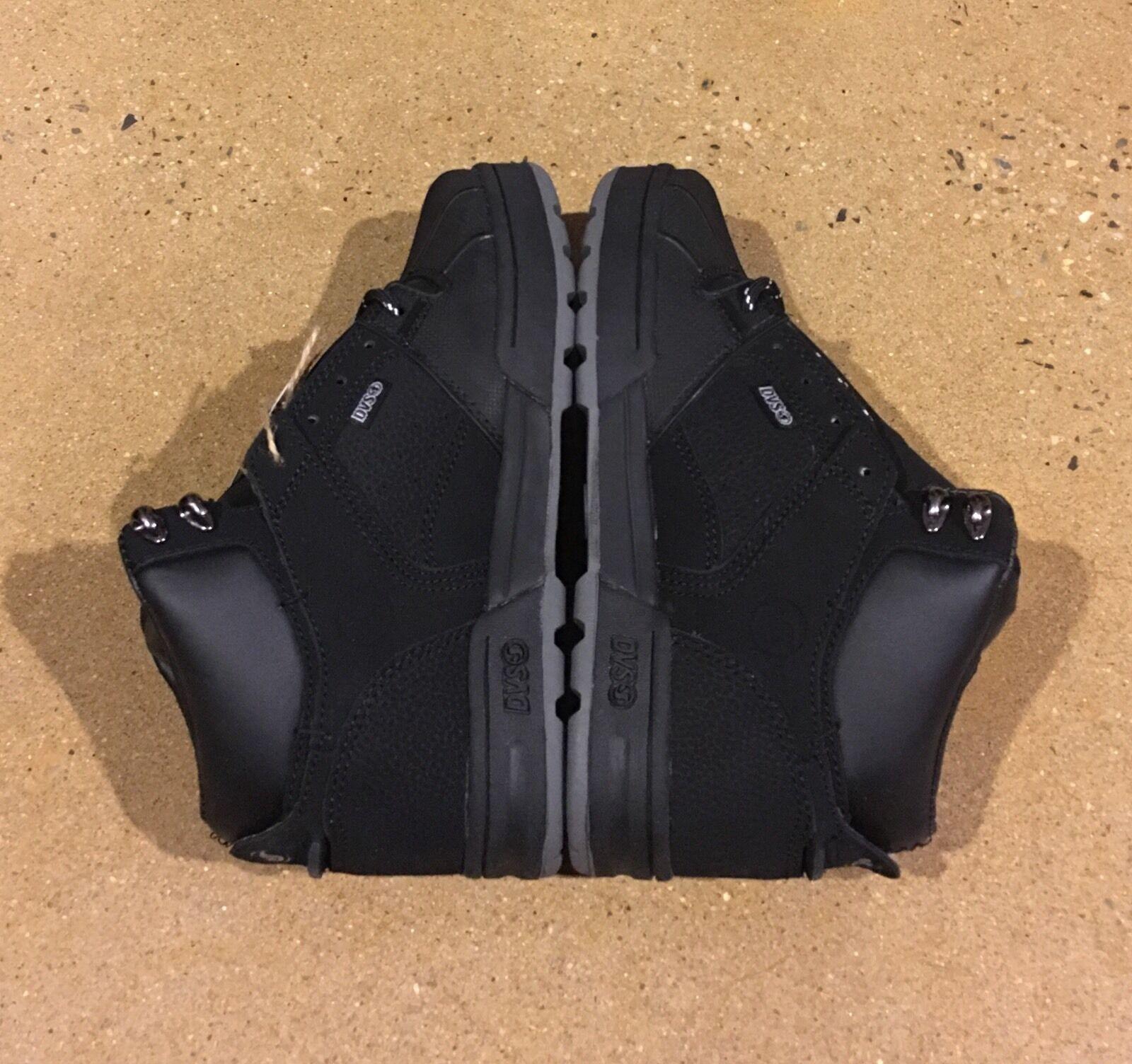 DVS Westridge Size 5.5 Black Nubuck BMX DC MOTO Snow Series Boots 95