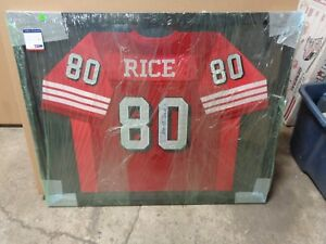buy popular dbeae c93ea Details about Jerry Rice Autographed Signed Jersey San Francisco 49ers PSA