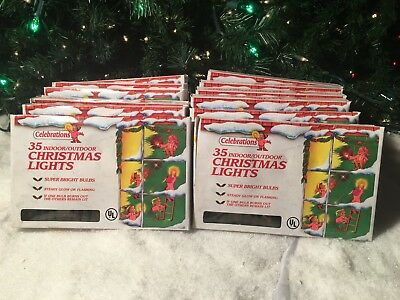 New Lot Of 12 Celebrations 35 Indoor Outdoor Multi Colored