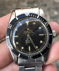 Rolex Submariner James Bond Spider exclamation dial Vintage 38 mm 5508