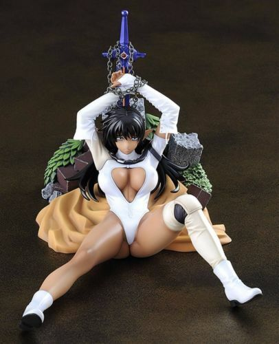 BASTARD! Arshes Nei 1//8 PVC figure FREEing from Japan