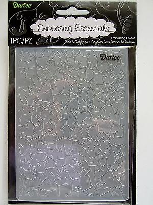 Darice Embossing Folder CRACKLE BACKGROUND 1218-57