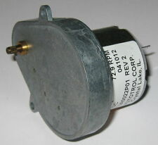 Autotrol 729 Rpm Gearhead Timing Motor 12v Dc 3mm Knurled Shaft