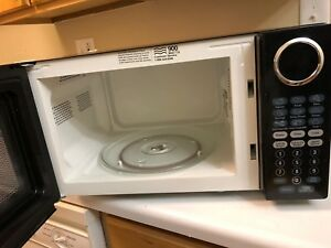 Black Microwave Oven Ft Sunbeam 0.9 Cu Kitchen & Dining Microwave ...