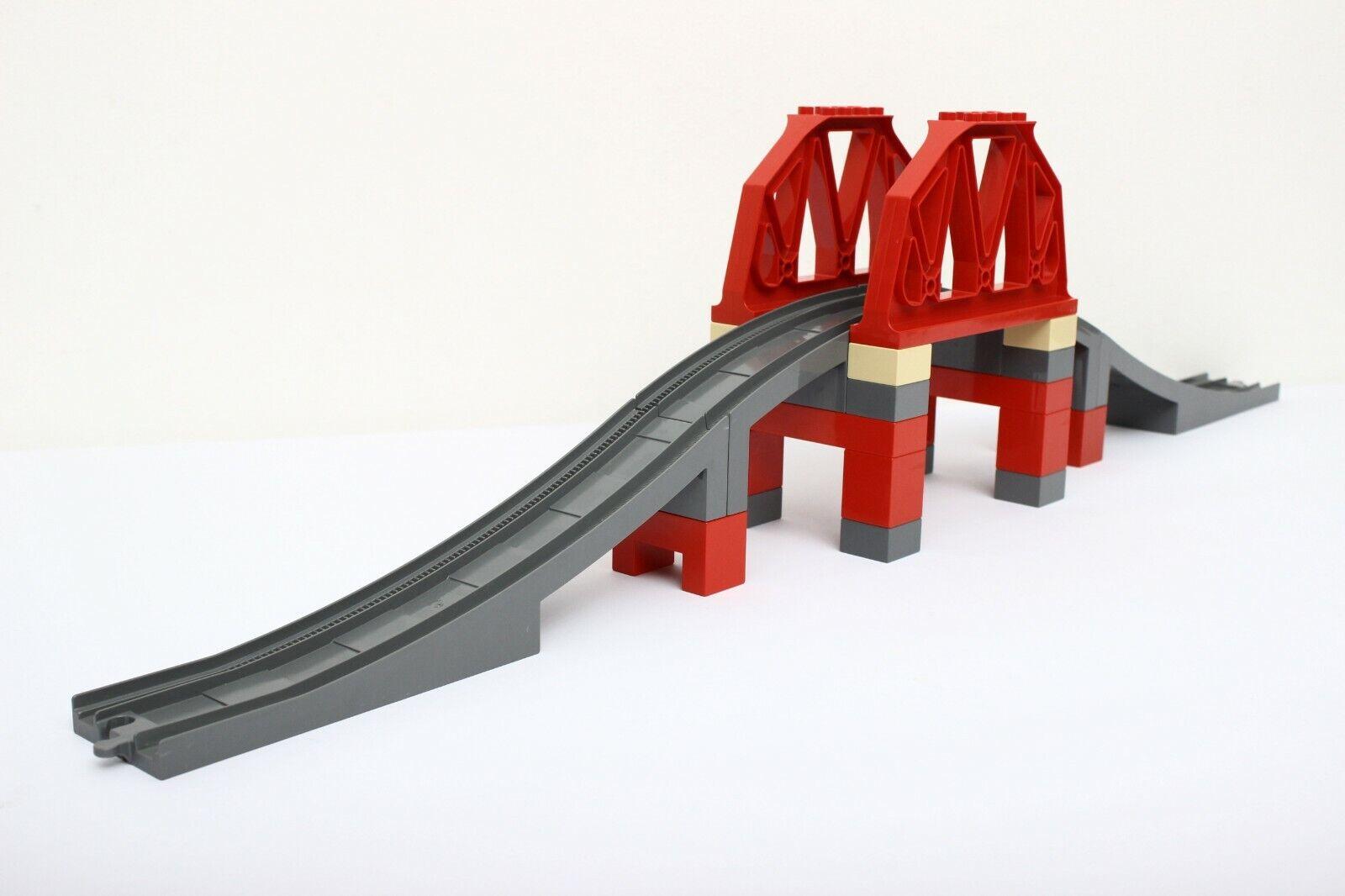Lego  Duplo Train Set 3774-1 Bridge 100% completare  stanno facendo attività di sconto
