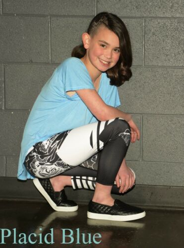 GIRLS Ragdoll /& Rockets Rayon Jersey Vee Tee Tunic Available in 7 colors