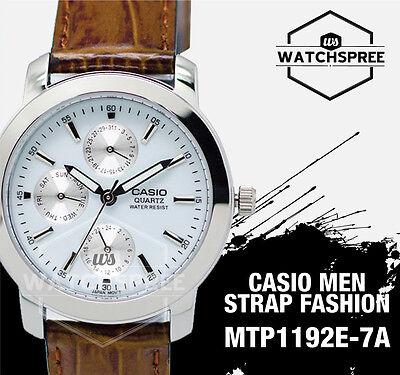 Casio Classic Series Men's Analog Watch MTP1192E-7A