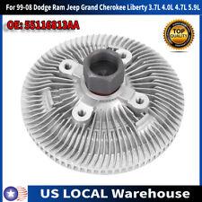 Grand Cherokee//Liberty 4.7L 5.9L 2736 Engine Cooling Fan Clutch for 99-08 Dakota//Durango// RAM