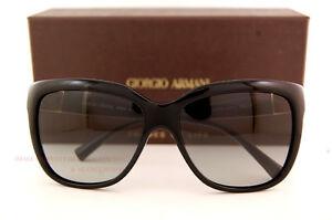 8a83b452e580 Brand New GIORGIO ARMANI Sunglasses AR 8042 5017 11 BLACK GREY ...
