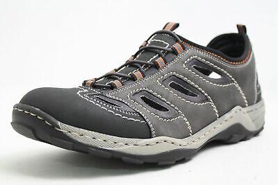Rieker Schuhe grau Hightech Variobündchen Lederfußbett Herren | eBay