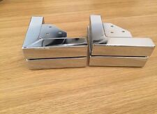 4x CHROME FEET 170mm Length FURNITURE FEET/LEGS for SOFAs, BEDS, CHAIRS, SETTEE