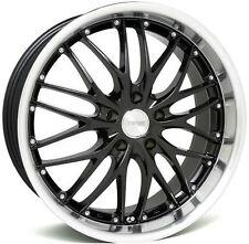 "18"" MRR GT1 Wheels Set For Audi A4 B5 B7 18X8.5"" 5X112 Black Mesh Rims Set"