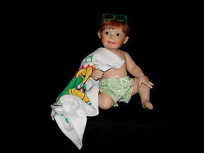 Junge Puppe Aus Voll-porzellan! KÜnstlerpuppe Titus Tomescu: Porzellanpuppe