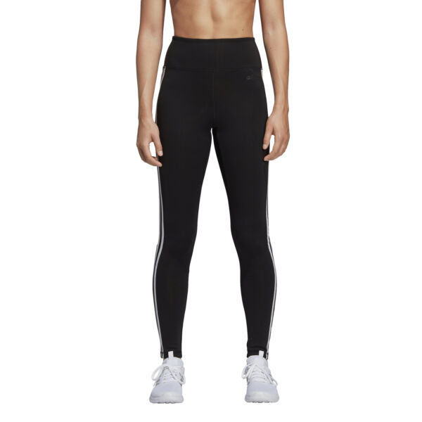 adidas D2M HR L 3S Damen Fitnesshose Sporthose