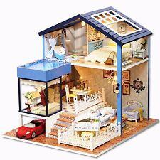 Progetto fai da te Handcraft in miniatura casa di bambole in legno La mia piccola Villa a Seattle
