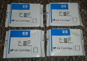 4 New Sealed Genuine HP 88 Ink 2 Magenta and 2 Cyan C9387A C9386A Cartridge