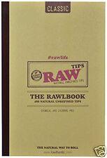 RAW RAWL BOOK 420 + 60 Classic Hemp RAW Rolling Paper Tips