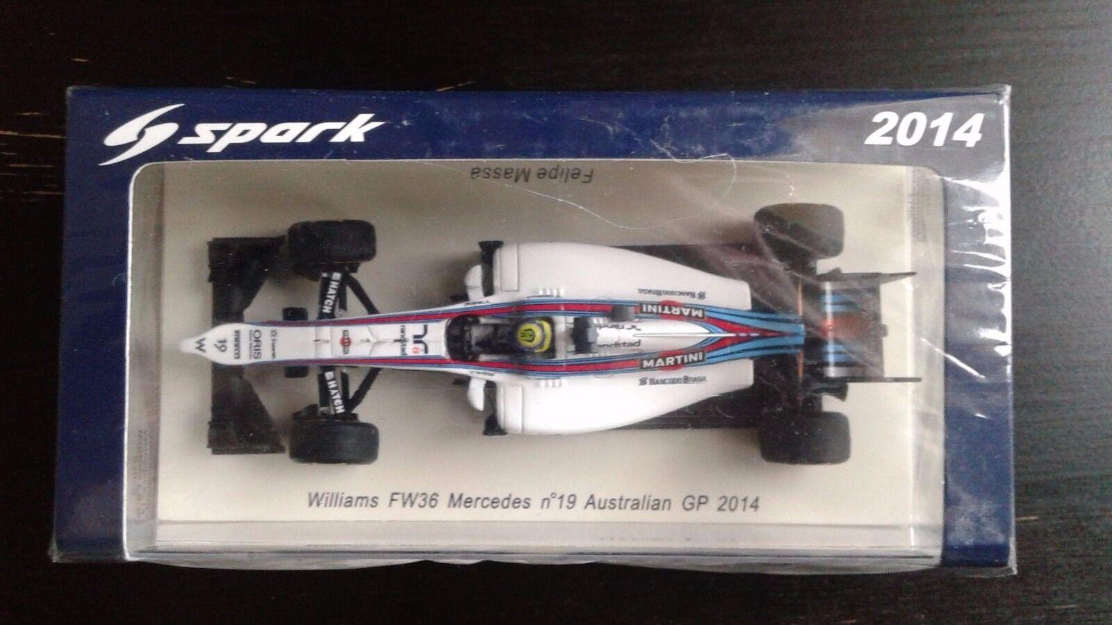 Williams FW36 Mercedes n°19 Australian GP 2014 Felipe Massa 1 43