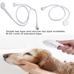 Pet Shower Spray Head Hose Bath Tub Sink Faucet Attachment Washing Hairdresser G