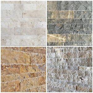 Das Bild Wird Geladen Travertin Wandverkleidung Wand Verblender Steinwand  Naturstein Wohnrausch 3D