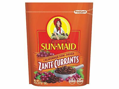 Sun-Maid California Sun-Dried Zante Currants 8 Ounce Bag ...